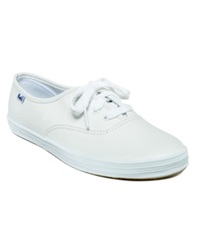 Keds Women's Champion Leather Oxford Sneakers Women's Shoes White