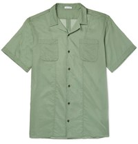 Tomas Maier Coastal Cotton Shirt Green