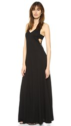 Lanston Cutout Maxi Dress Black
