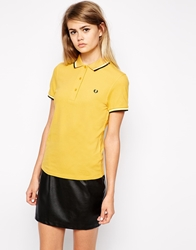 Fred Perry Polo Shirt Yellow