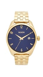 Nixon The Bullet Living Colour Watch Gold Navy