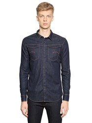 G Star G Star Arc 3D Light Cotton Stretch Denim Shirt
