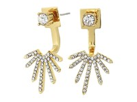 Vince Camuto Front Back Earrings Gold Crystal Earring
