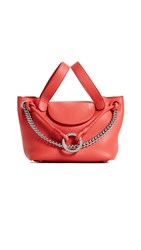 Meli Melo Linked Thela Mini Tote Bag Mars Red