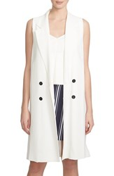 Women's 1.State Double Breasted Trench Vest