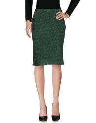 Aspesi Knee Length Skirts Green