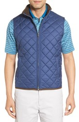 Peter Millar Men's 'Hudson' Lightweight Quilted Vest Pacific