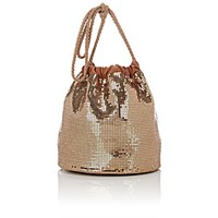 Paco Rabanne Women's Sac Mesh Bucket Bag Gold