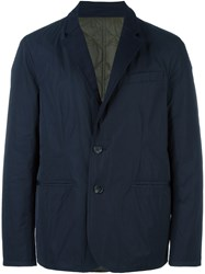 Joseph 'Barrington' Padded Jacket Blue