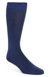 Calibrate Men's Cotton Blend Socks Blue Estate