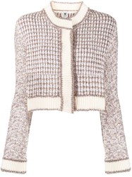 M Missoni Cropped Knit Cardigan 60