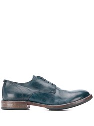 Moma Classic Lace Up Shoes Blue