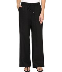 Tommy Bahama Two Palms Easy Pants Black Women's Casual Pants