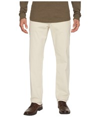 Ag Adriano Goldschmied Graduate Tailored Straight Sueded Stretch Sateen Moon Glade Casual Pants White