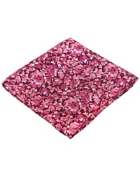 Ryan Seacrest Distinction Westcoast Floral Pocket Square Pink