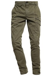 Calvin Klein Jeans Clean Cargo Trousers Green Oliv