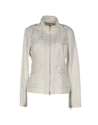 Dek'her Coats And Jackets Jackets Women Grey