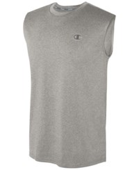 Champion Men's Vapor Heathered Tank Top Oxford Gray