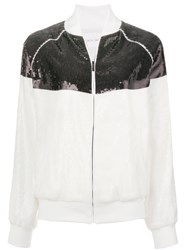 Alberta Ferretti Rainbow Week Jacket White
