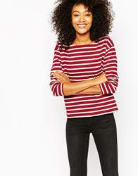 Monki Top Red