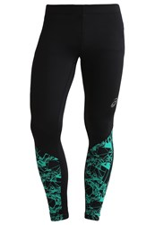 Asics Fuzex Tights Optical Jungle Green Dark Green