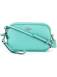 Coach 'Aqua' Clutch Blue