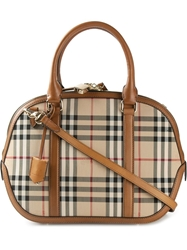 Burberry Small 'Orchard' Horseferry Check Tote