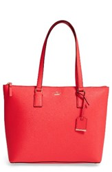 Kate Spade New York 'Cameron Street Lucie' Tote Red Prickly Pear