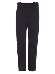 Chloe Cargo Cotton Twill Trousers