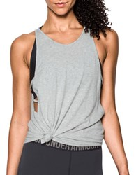 Under Armour Sleeveless Relaxed Fit Tank Top Grey