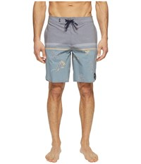 Vans Two Harbors Boardshorts Blue Mirage Havana Floral Men's Swimwear
