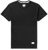 Rag And Bone Standard Issue Cotton Jersey T Shirt Black