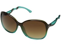 Spy Optic Fiona Mint Chip Fade Happy Bronze Fade Sport Sunglasses Black
