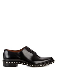 Givenchy Studded Leather Lace Up Derby Shoes
