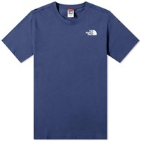 The North Face Red Box Tee Blue