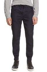 Men's Kenneth Cole Black Label Knit Denim Jogger Pants