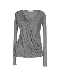 Vdp Sport Topwear T Shirts Women Grey