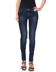 Jcolor Denim Denim Trousers Women Blue