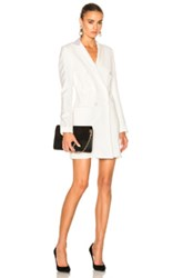 Veronica Beard Carlyle Blazer Dress In White