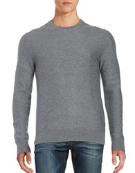 Michael Kors Textured Crewneck Sweater Ash