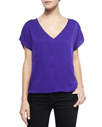 Milly Seamed Dolman Sleeve Blouse