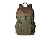 Burton Annex Pack Forest Night Waxed Canvas Day Pack Bags Olive