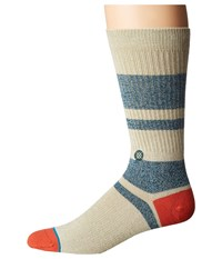 Stance First Point Red Men's Crew Cut Socks Shoes