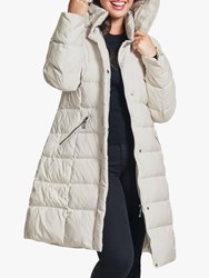 Four Seasons Quilted Coat Natural