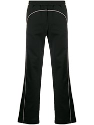 Misbhv Piped Trim Track Pants Black