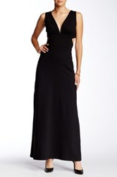 Susana Monaco Felicity Full Length Dress Black