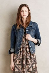 Anthropologie Pilcro Denim Jacket Dark Denim Xl Jackets