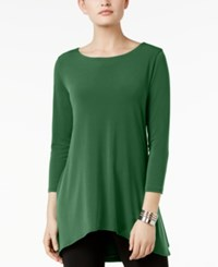 Alfani Jersey High Low Tunic Only At Macy's Melon Rind