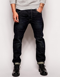 Asos Loose Jeans In Engineered Style Blue