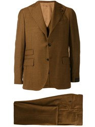 Gabriele Pasini Two Piece Formal Suit Brown